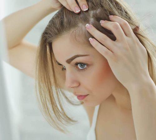 Hiustenlähtö terapia